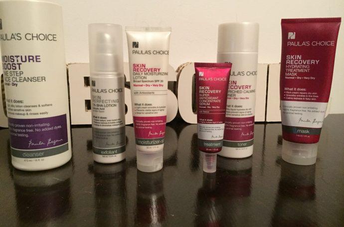 Astea sunt toate produsele pe care le folosesc eu